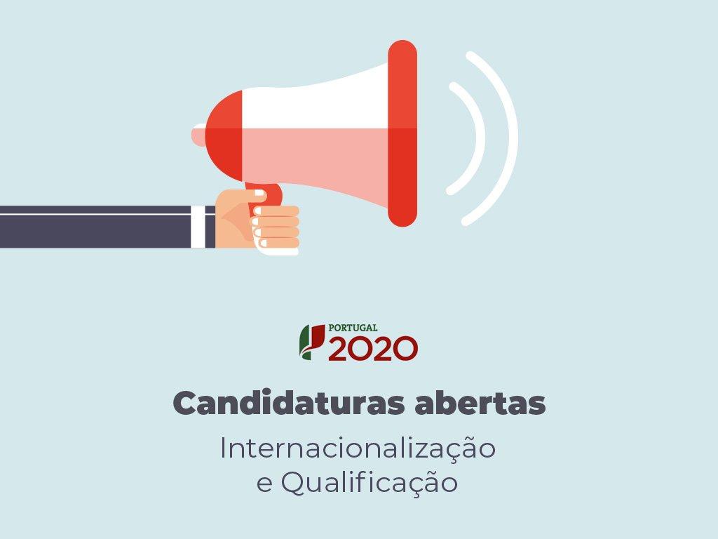 Candidaturas ao SI Internacionalização e SI Qualificação