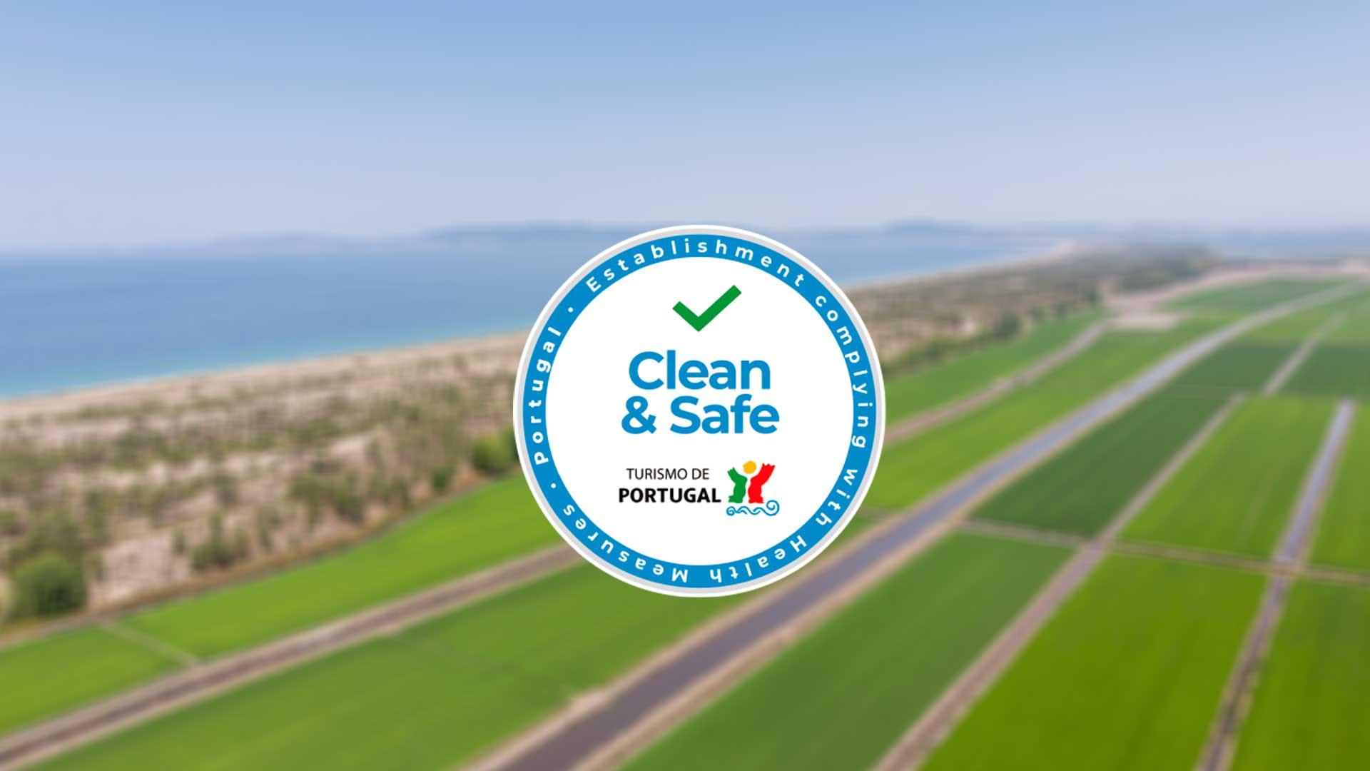 """""""Clean & Safe"""": um selo para quem promove o Turismo seguro"""